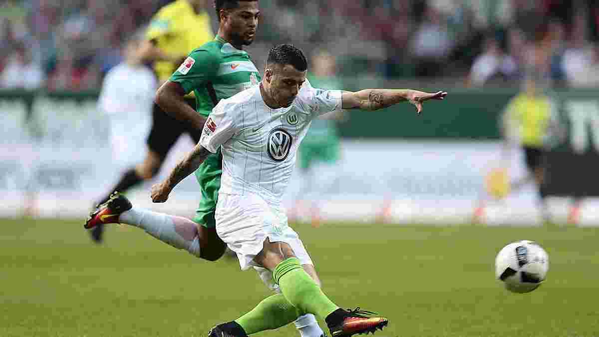 """""""Вердер"""" на останніх хвилинах матчу вирвав перемогу у """"Вольфсбурга"""""""