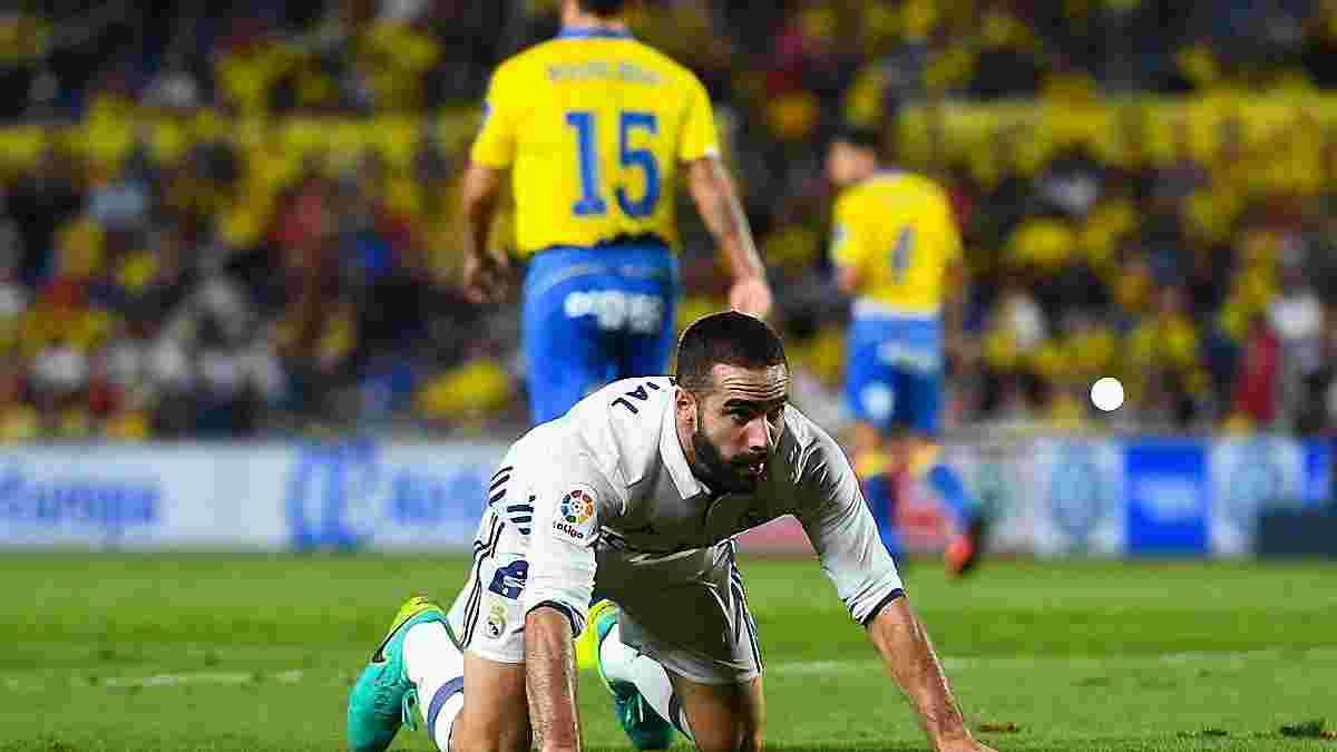 """""""Реал"""" не сумел одолеть """"Лас-Пальмас"""", не побеждая во втором матче подряд"""