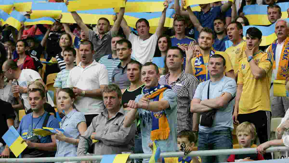 Матч Україна – Косово відбудеться за присутності глядачів