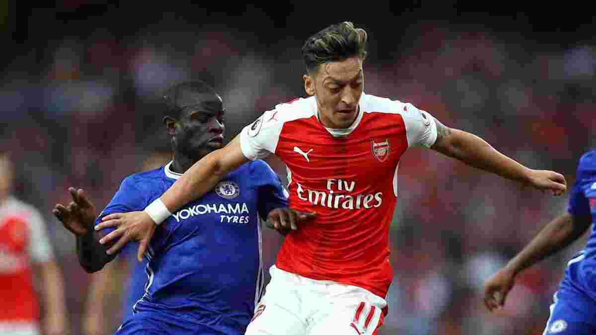 "Как Канте проиграл забег арбитру во время голевой атаки ""Арсенала"""