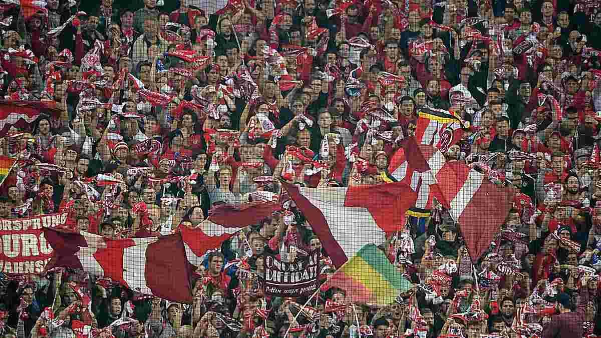 """Фанаты """"Баварии"""" подали 25 тысяч заявок на гостевой поединок против ПСВ при максимальной квоте 1,6 тысячи"""