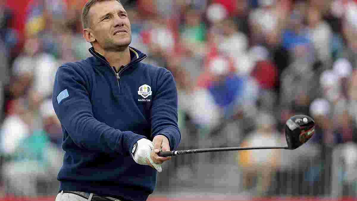Шевченко зустрівся з Дель П'єро на турнірі з гольфу – з'явилось фото