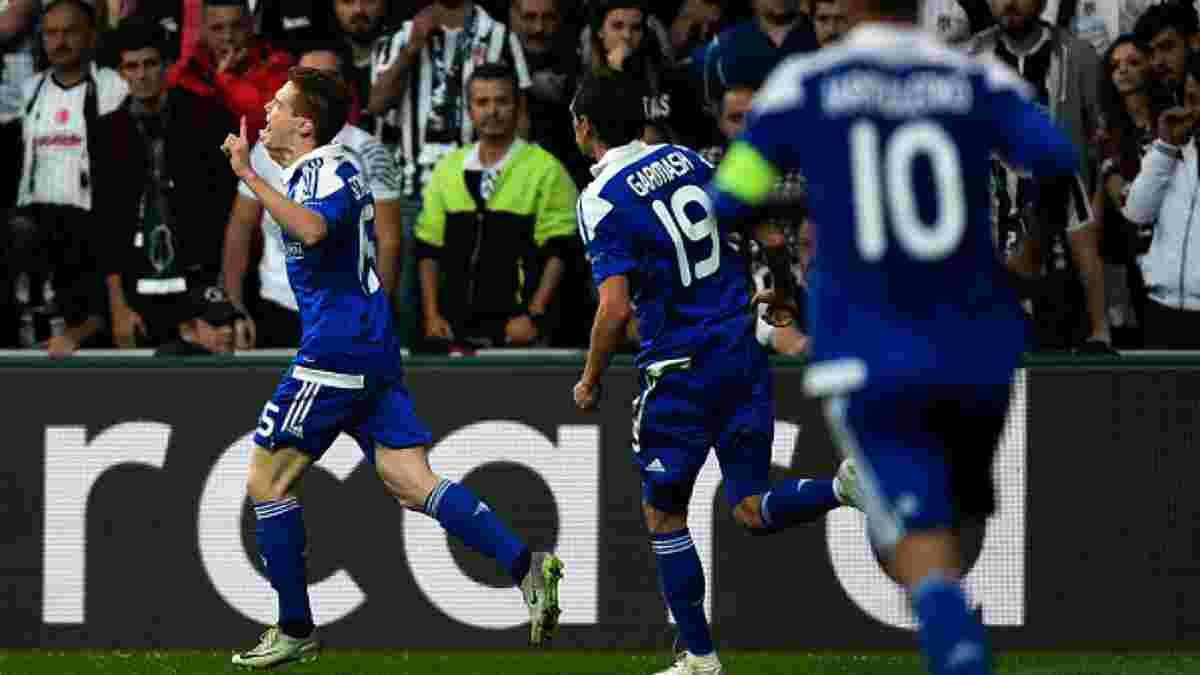 Как Цыганков забил дебютный гол в Лиге чемпионов