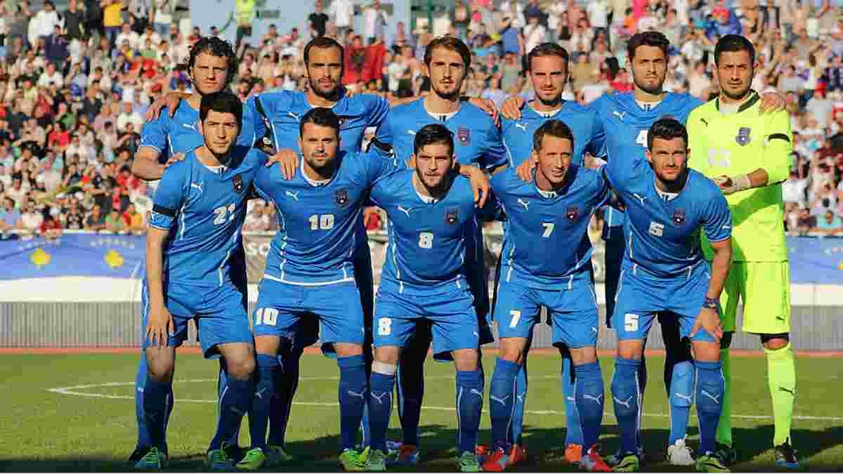 Сербия опротестует включение Косово в УЕФА