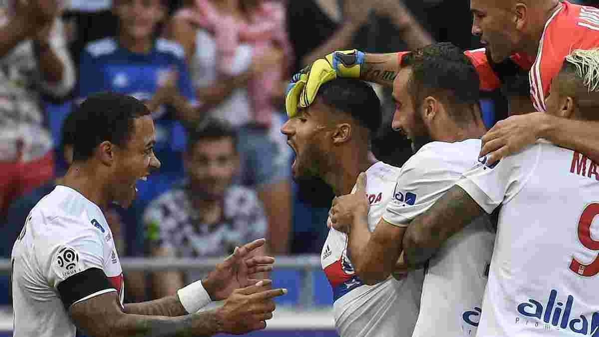 Фекір забив божевільний гол з центра поля у драматичному матчі Ліон – Бордо