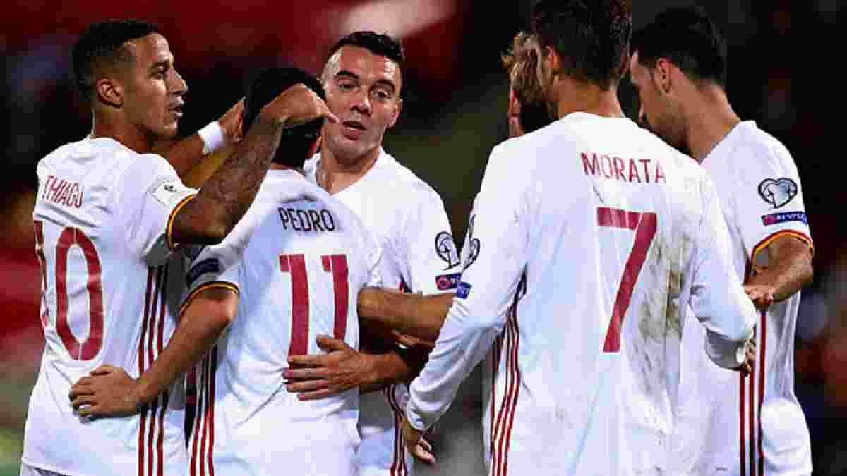 Ліхтенштейн – Іспанія – 0:8 – Відео голів та огляд матчу