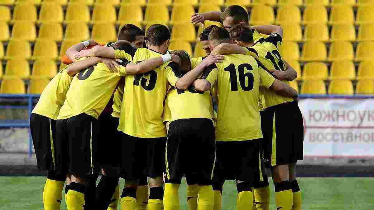 Вторая лига: Металлург дома пропустил 11 мячей от Энергии. Это рекорд Украины в нынешнем сезоне