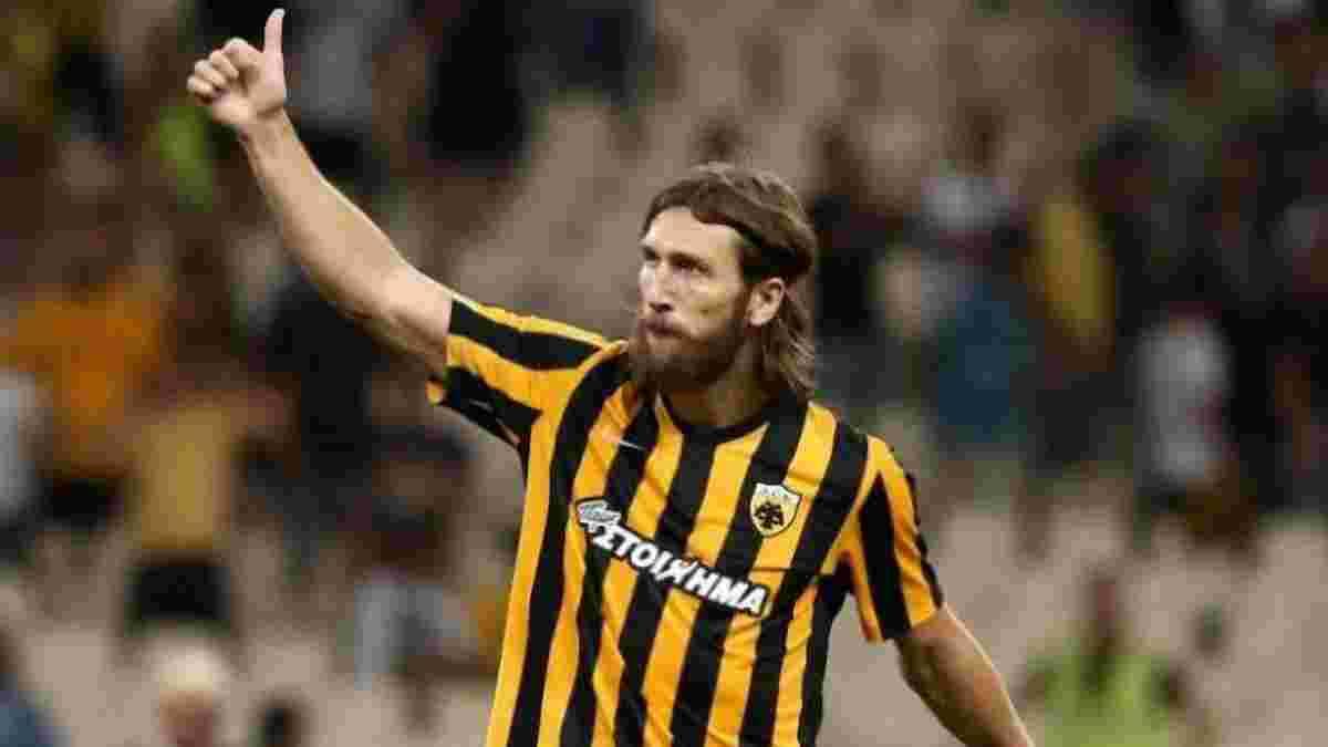 Чигринский стал лучшим игроком матча с Астерасом по версии греческих СМИ