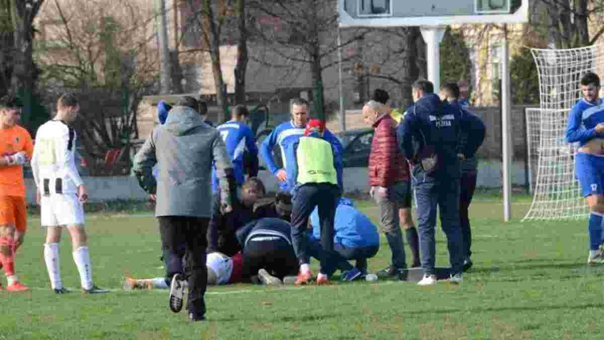 25-летний футболист Бруно Бобан умер на поле