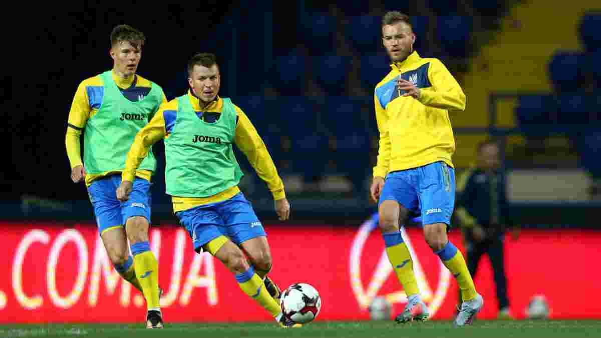 Збірна України може зіграти з Албанією у Швейцарії