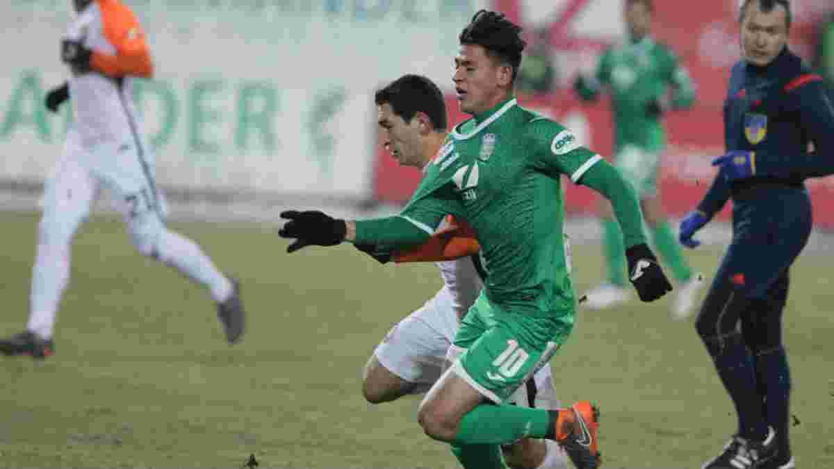 Карпати – Чорноморець: Карраскаль забив блискучий гол, обігравши суперника у стилі Роналдінью