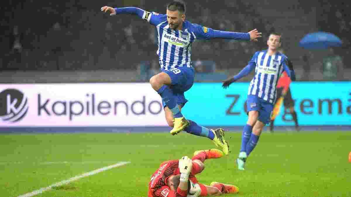 Герта и Вольфсбург голов не забивали