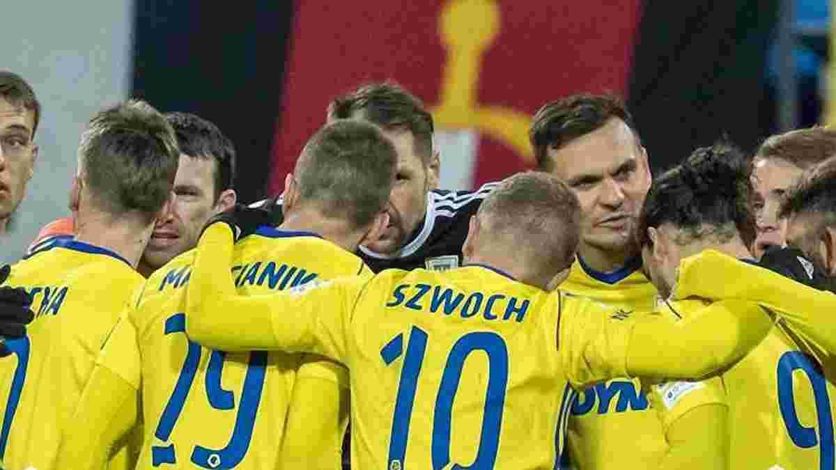 Богданов голом со штрафного принес победу Арке в матче против Легии