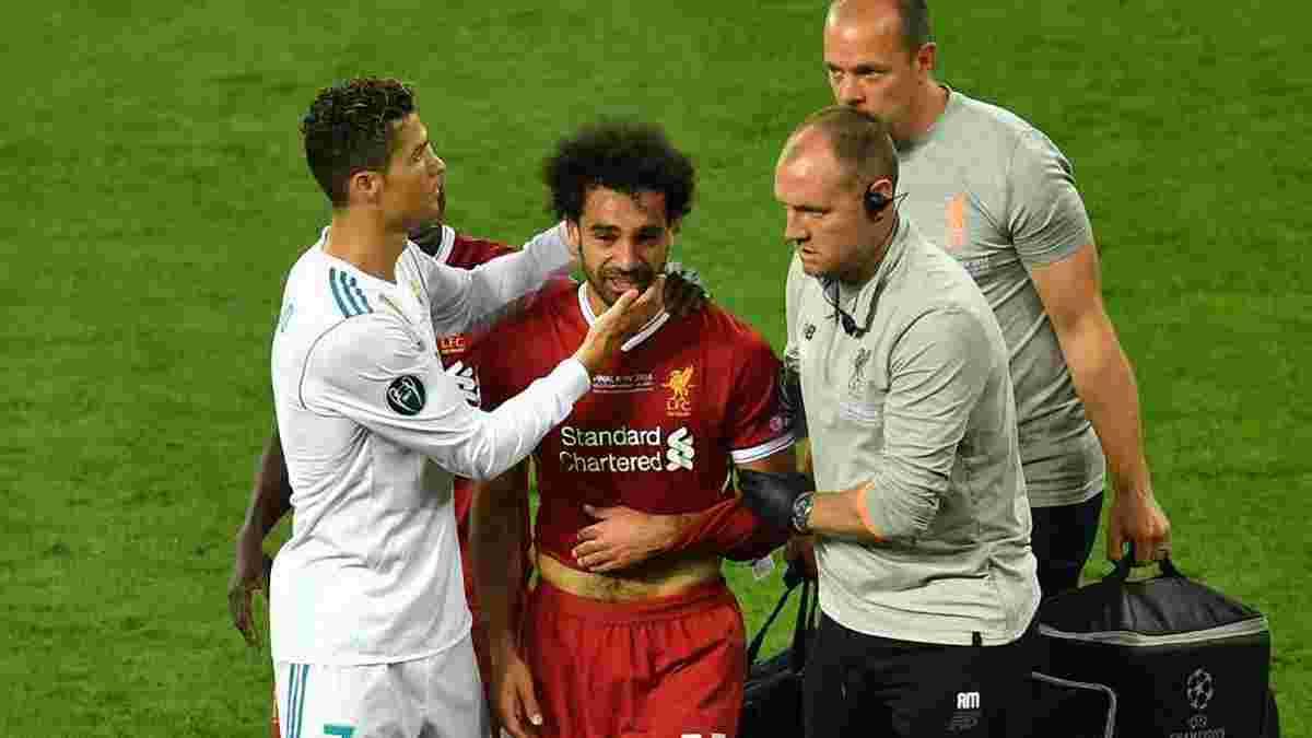 Реал – Ливерпуль: специально ли Рамос сломал Салаха?