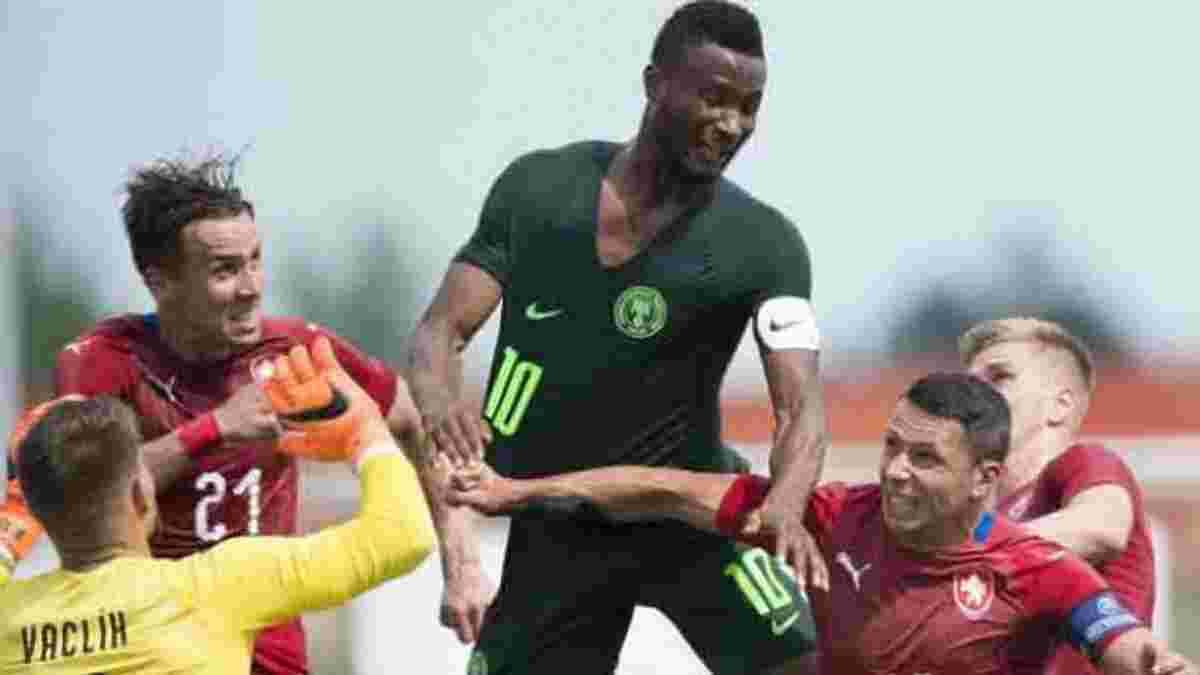 Чехія – Нігерія – 1:0 – відео гола та огляд матчу