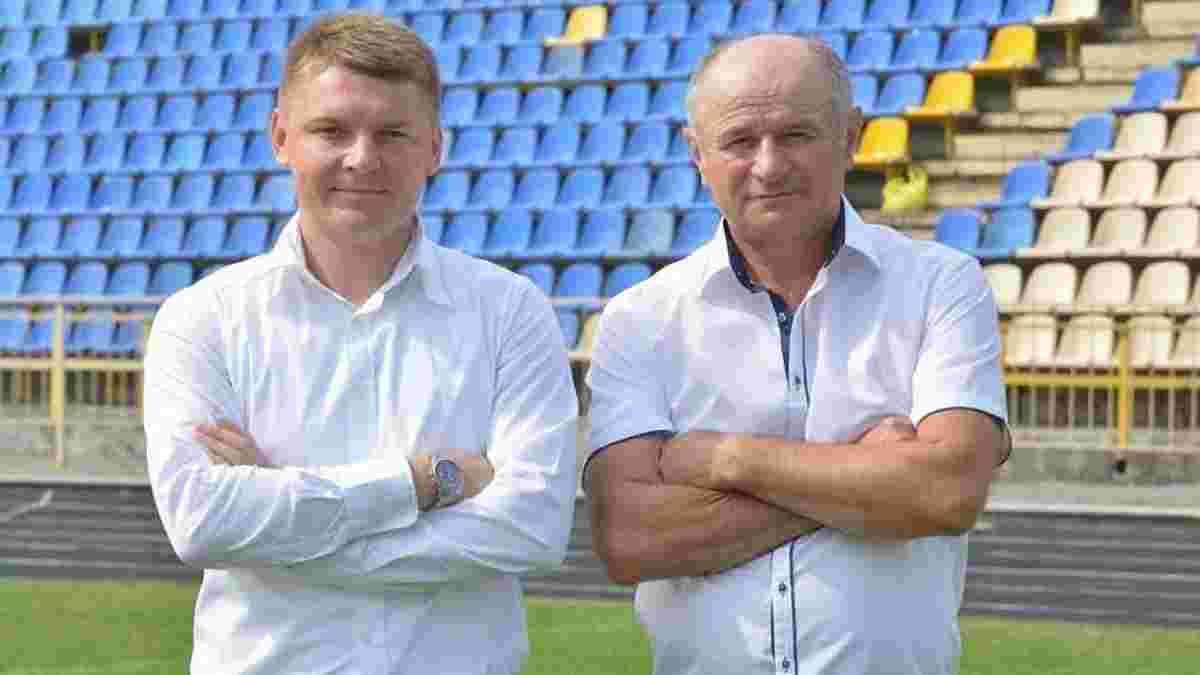 Верес оригінально представив Гоменюка в якості головного тренера
