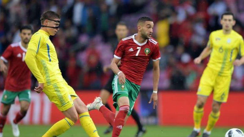 Збірна Марокко в матчі проти України
