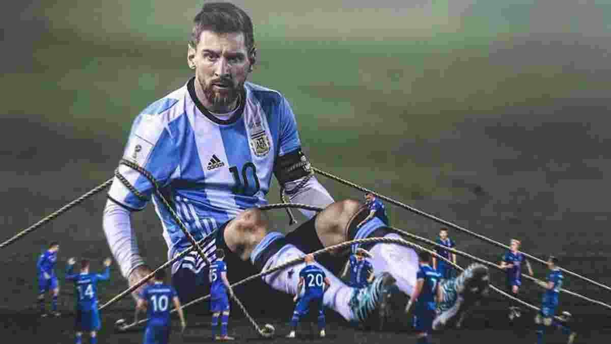 83% матча ходил пешком: Исландия остановила Месси, но Роналду после такого выиграл Евро