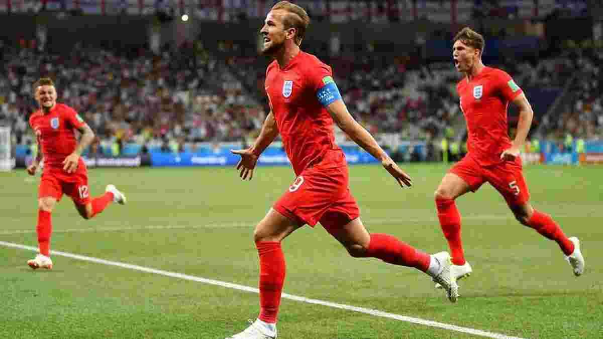 Туніс – Англія: трансляція матчу стала найпопулярнішою програмою Великобританії у 2018 році