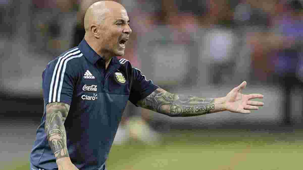 Сампаоли: Месси – стержень сборной Аргентины, таким был Марадона
