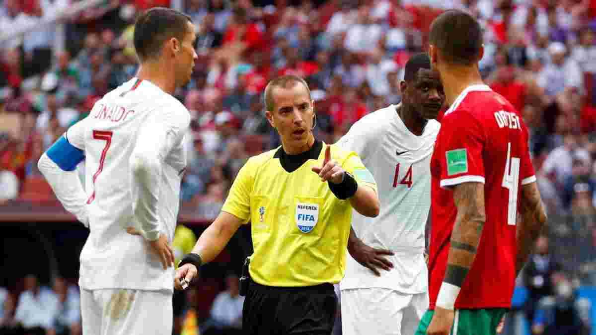 """""""Суддя просив футболку в Роналду"""" – ФІФА відповіла на звинувачення гравця Марокко"""