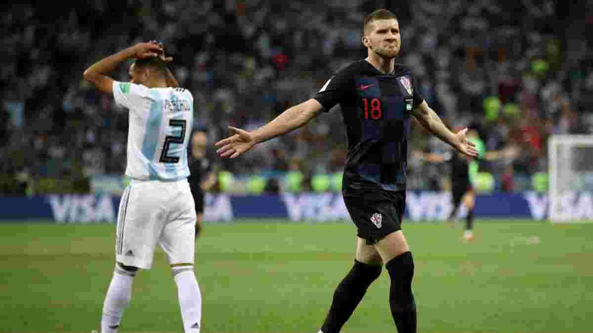 Ребіч: Аргентина залишила таке погане враження, що я передумав просити футболку у Мессі