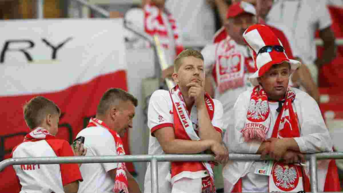 ЧМ-2018: Польша стала первой командой из Европы, которая после двух туров потеряла шансы на выход в плей-офф