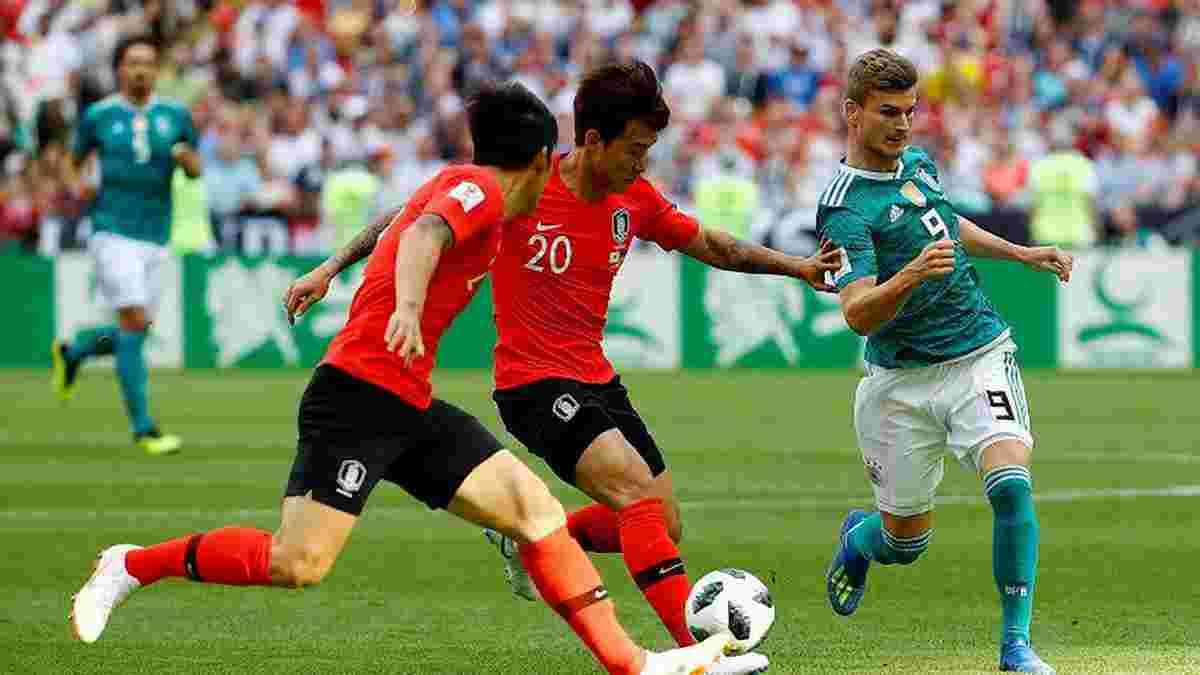 ЧМ-2018 Южная Корея – Германия: падение чемпиона – Бундестим проиграл азиатам и бесславно покинул Мундиаль