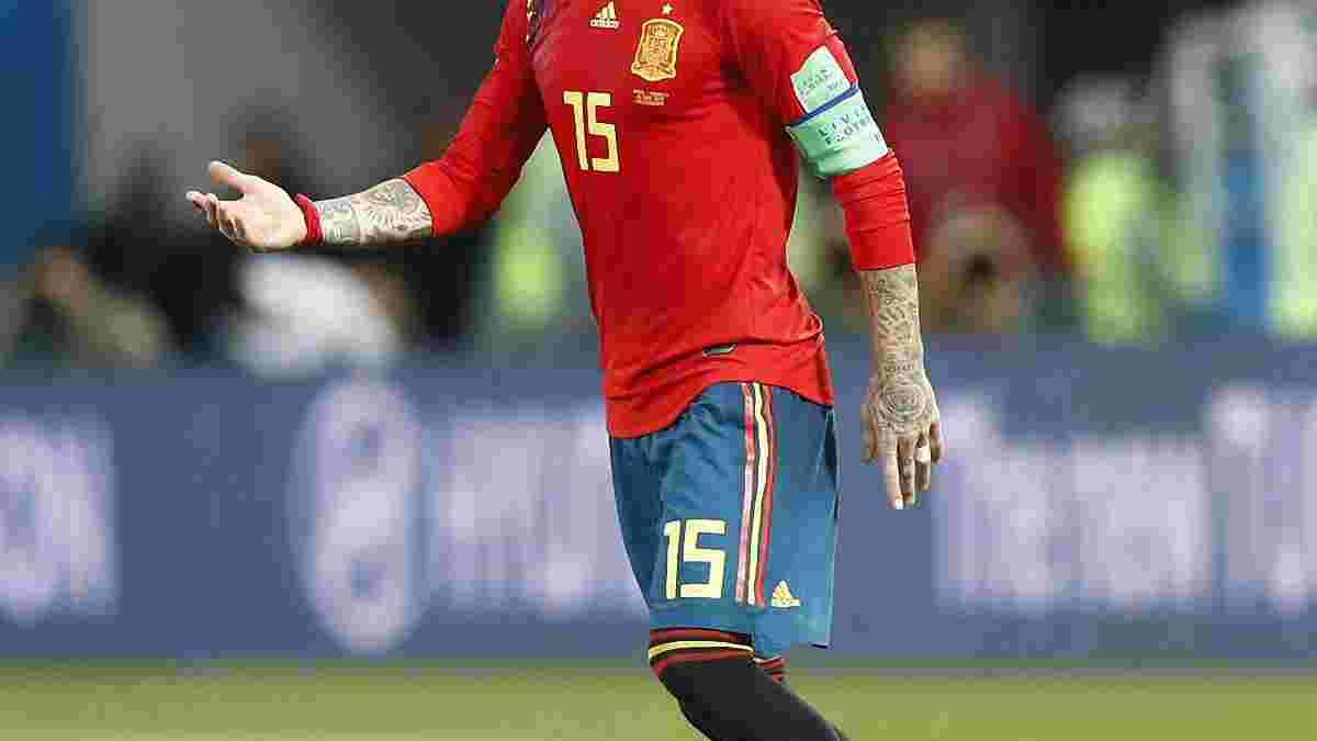 Рамос: Росія? Збірна Іспанії може нав'язати супернику свою гру