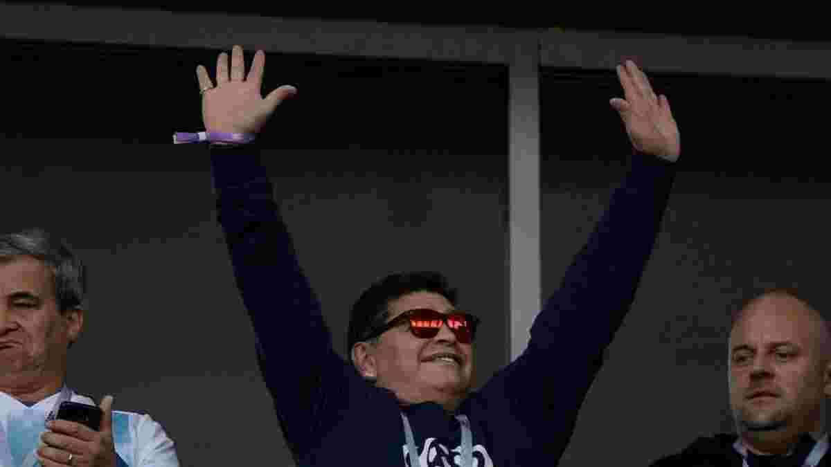 ФІФА платить Марадоні за кожен матч ЧС-2018, який він відвідує, – ЗМІ