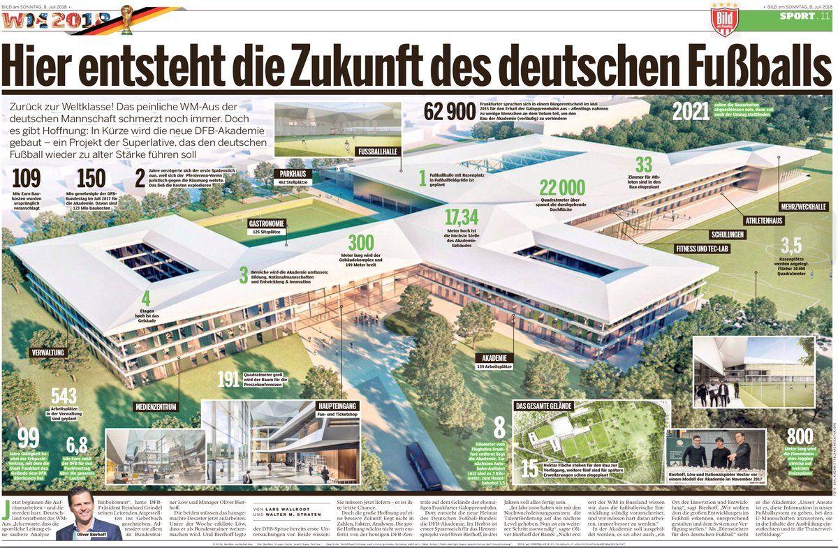 Провал Німеччини на ЧС-2018, причини і наслідки, нова футбольна академія у Франкфурті, Німецький футбольний союз