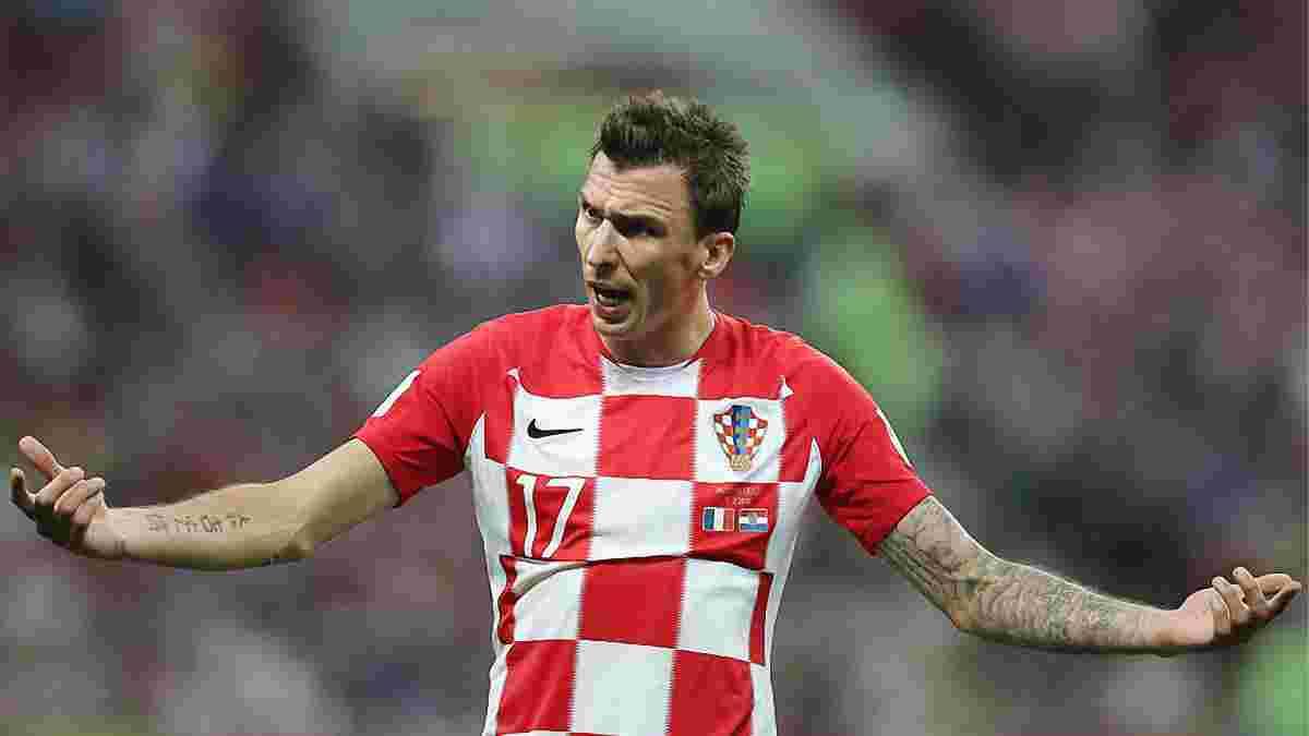 Франція – Хорватія: Манджукіч – п'ятий гравець в історії, який забивав у фіналі ЧС і ЛЧ