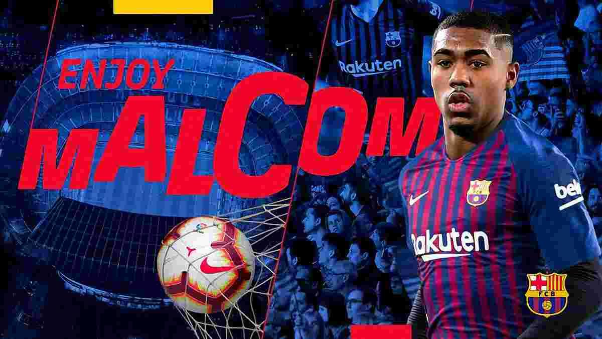 Малком офіційно став гравцем Барселони