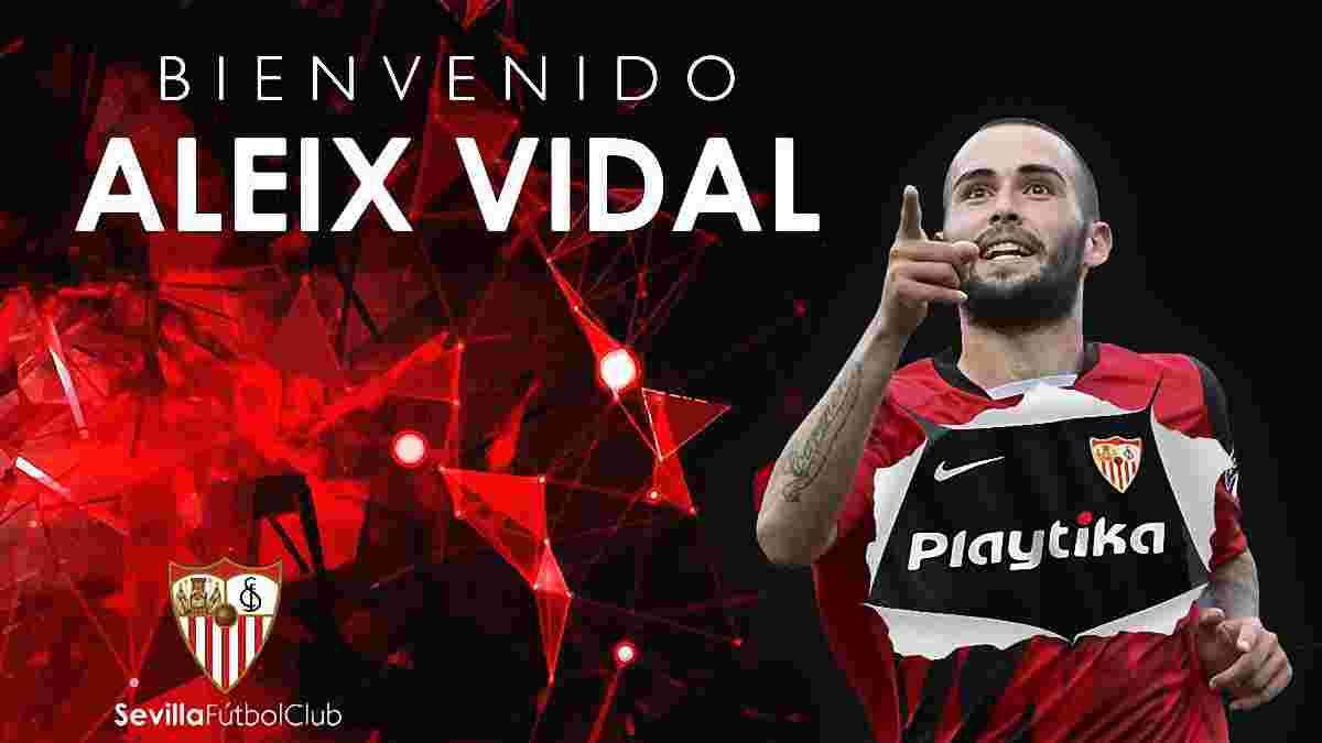 Алейш Видаль официально стал игроком Севильи