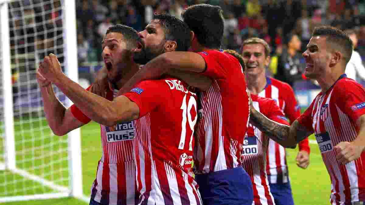 Атлетіко в яскравому матчі переміг Реал і завоював Суперкубок УЄФА