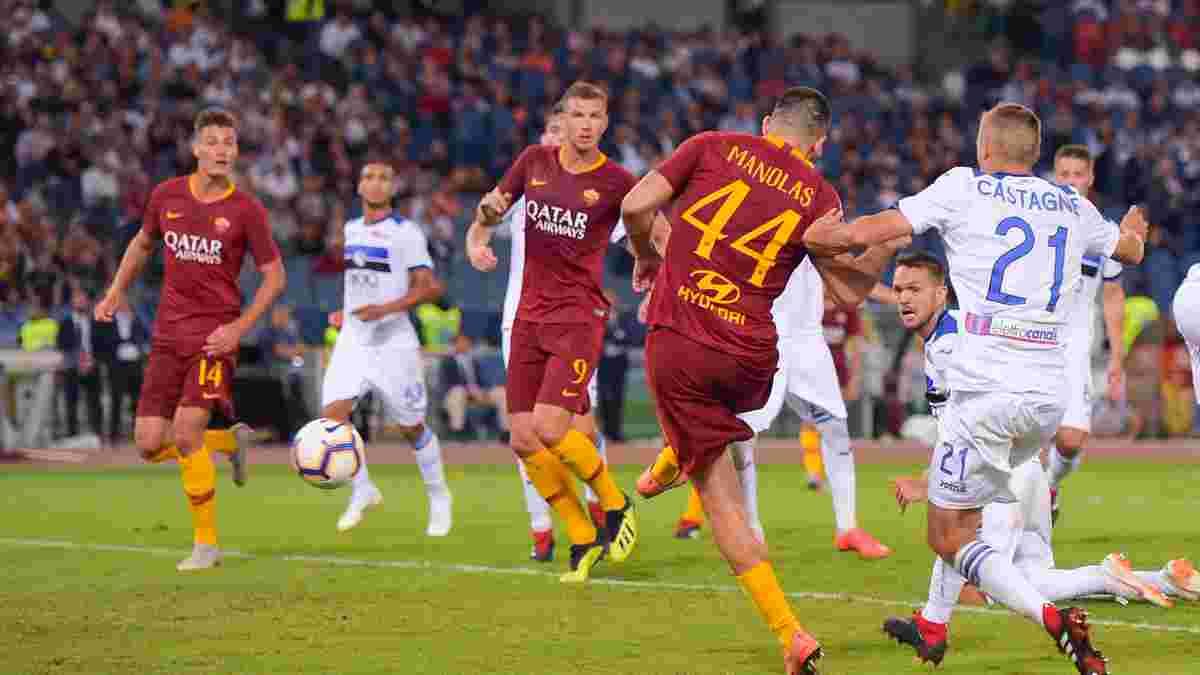 Рома и Аталанта расписали боевую ничью с 6-ю голами