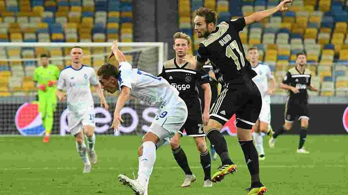 Аякс – Динамо: коли Бойко – герой матчу, або феєричне фіаско у Лізі чемпіонів