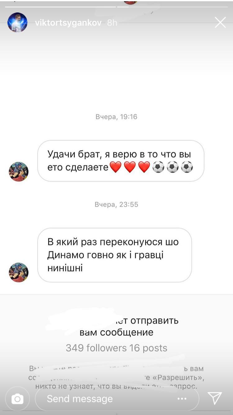 Віктор Циганков, Динамо, фанат, Аякс, Ліга чемпіонів