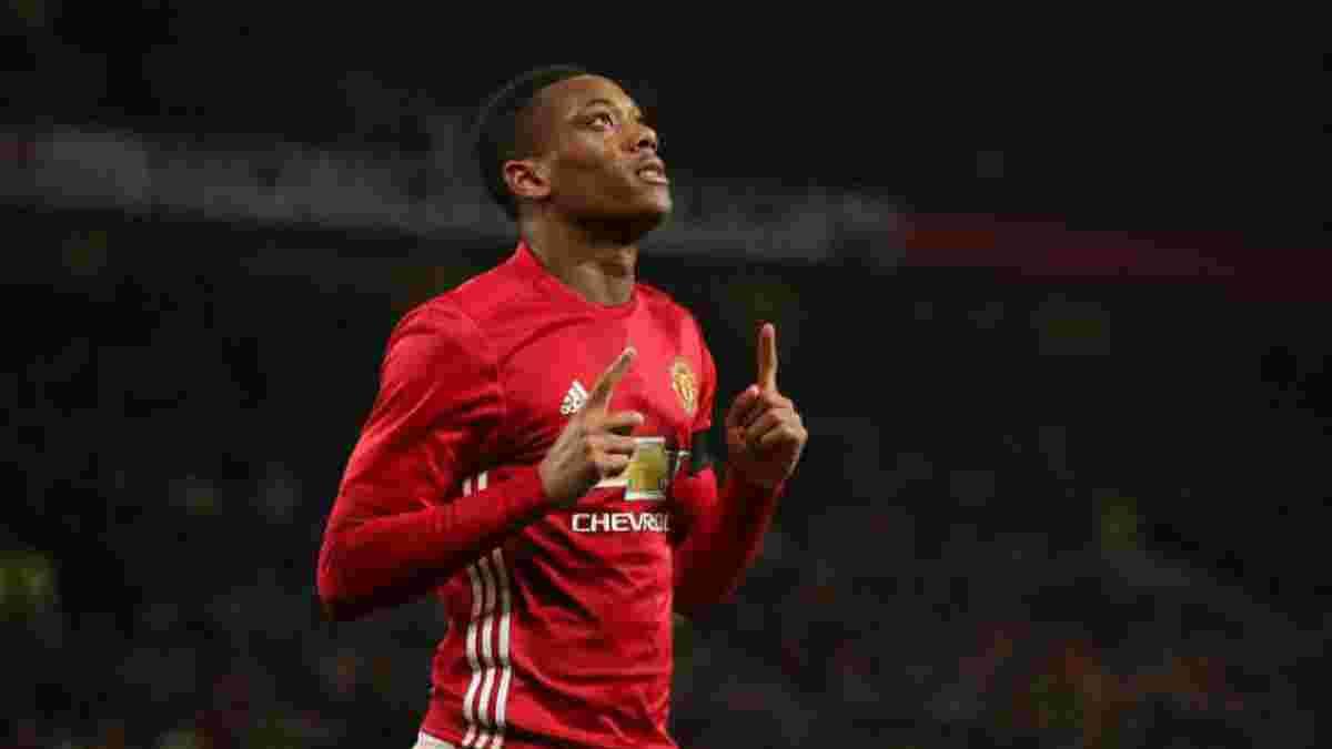 Мартіаль близький до підписання нового контракту з Манчестер Юнайтед