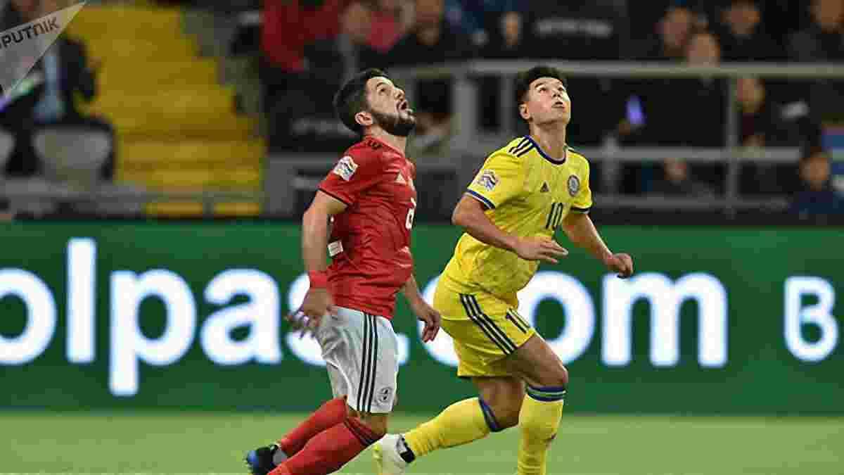 Казахстан – Грузія – 0:2 – відео голів та огляд матчу
