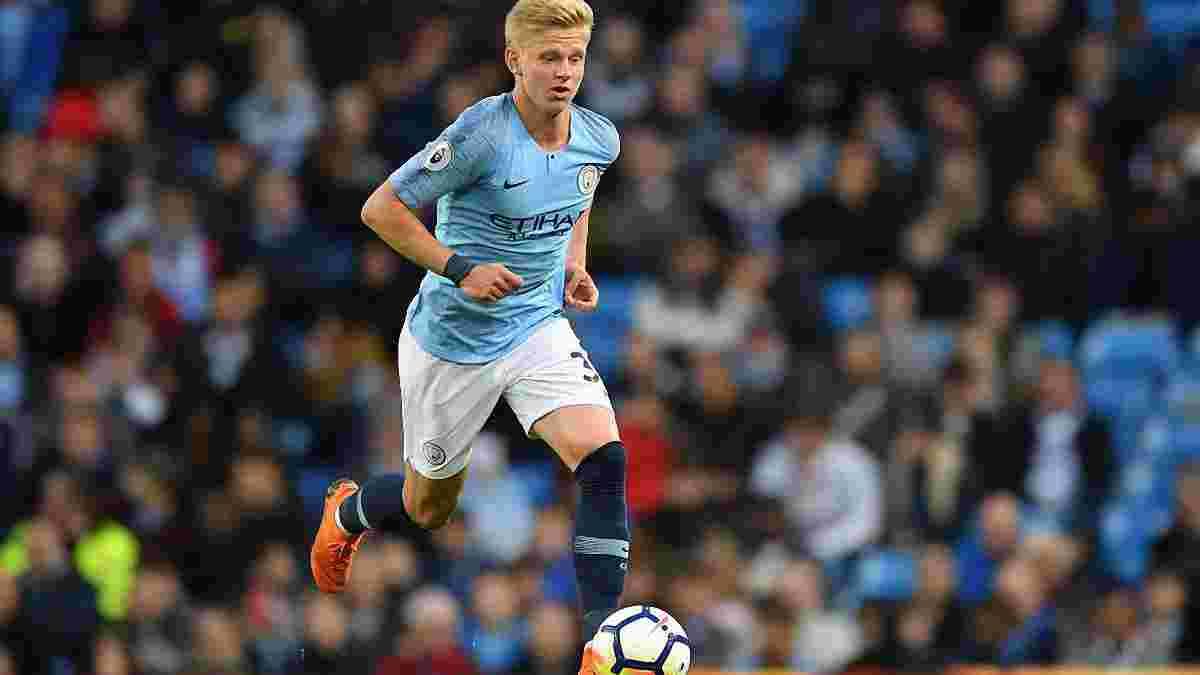 Зинченко – среди 3 игроков Манчестер Сити, которые не сыграли ни одной минуты в АПЛ 2018/19