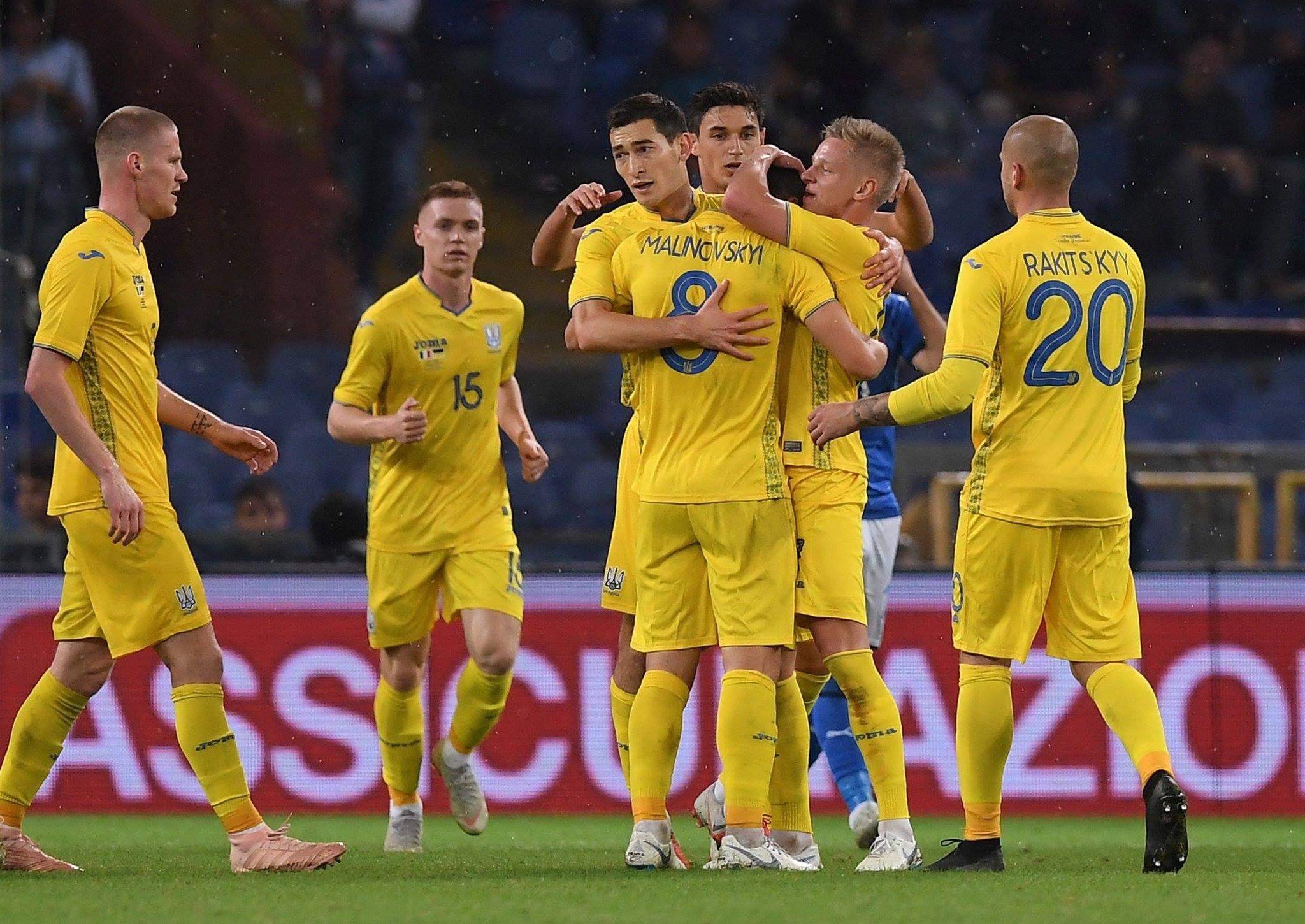 Футбол италия украина счет