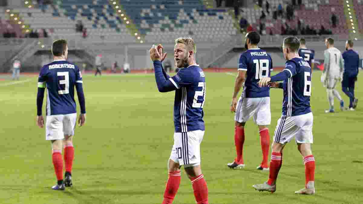 Албанія – Шотландія – 0:4 – відео голів та огляд матчу