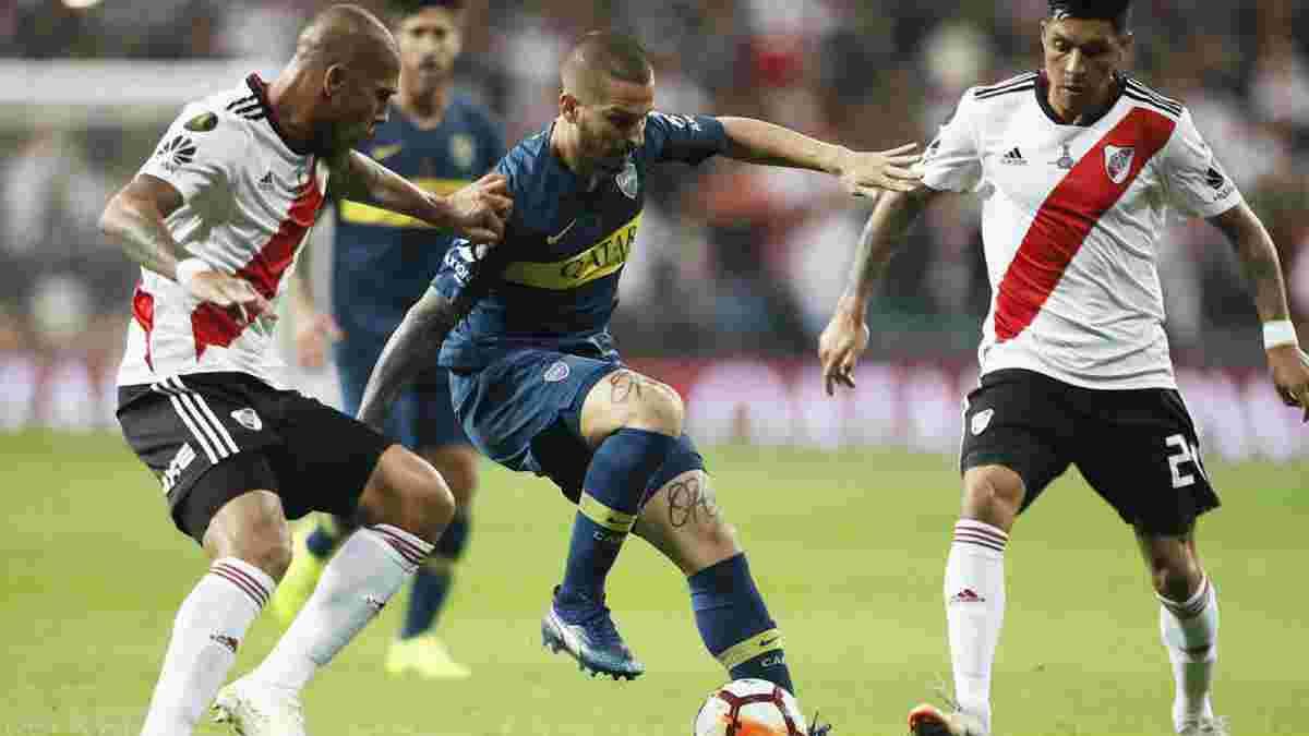 Ривер Плейт одолел Боку Хуниорс в экстра-тайме и выиграл Кубок Либертадорес