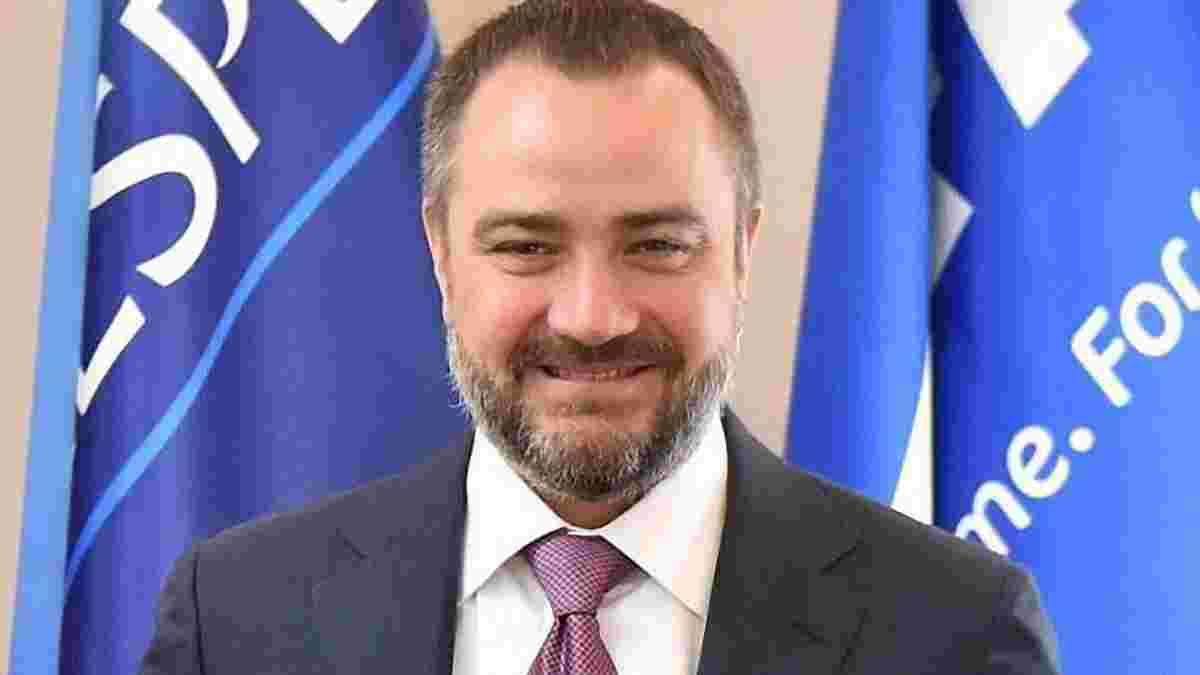 Павелко официально баллотируется в Исполком УЕФА