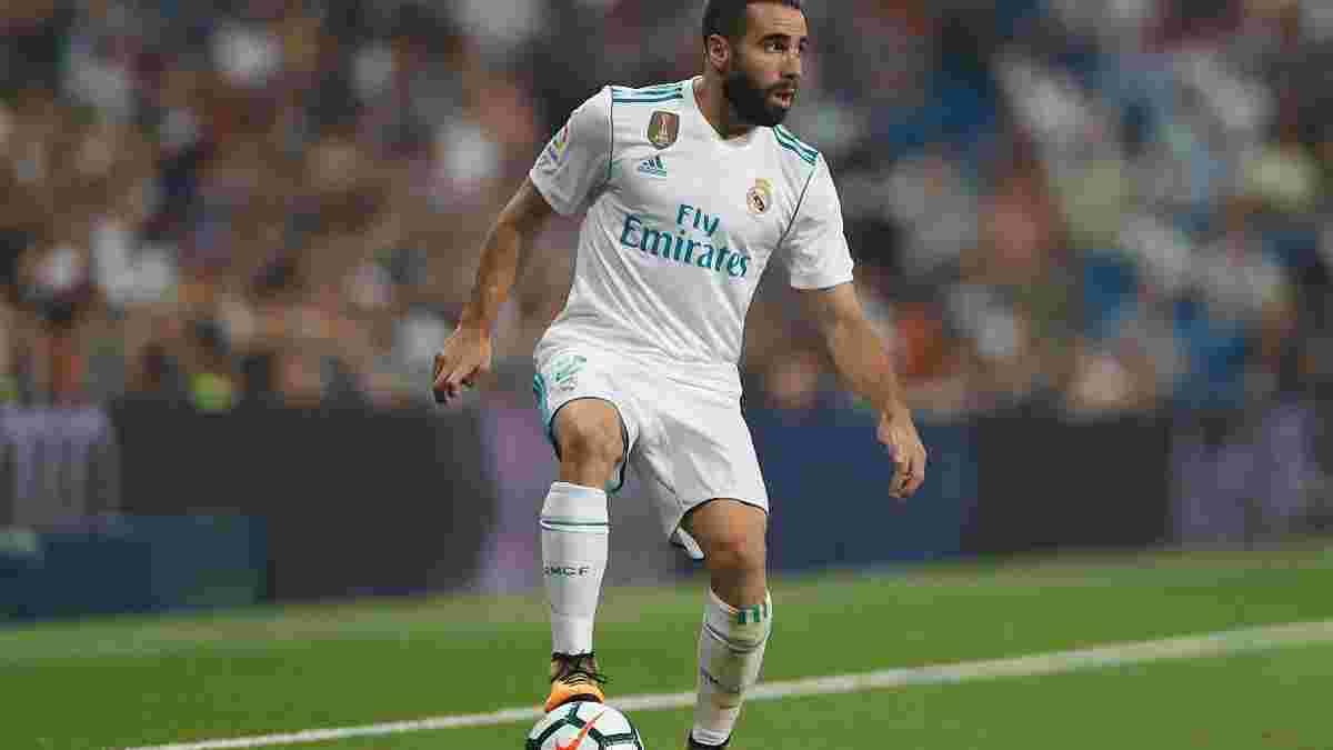 Карвахаль: Молоді гравці Реала не підходять першій команді