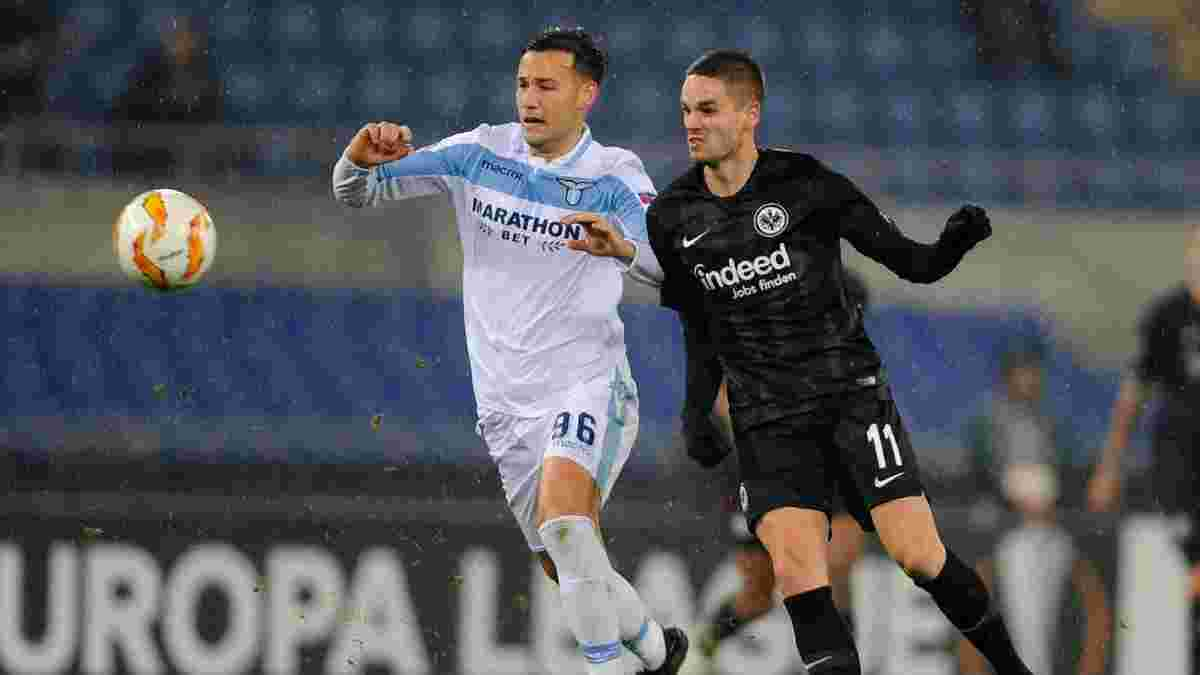 Лацио – Айнтрахт Франкфурт – 1:2 – видео голов и обзор матча