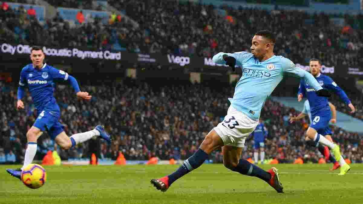 Манчестер Сити уверенно победил Эвертон и вернулся на первое место