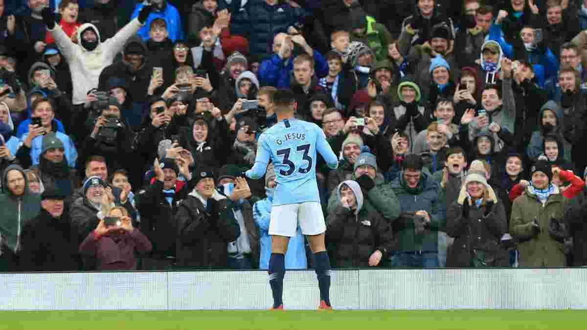 Манчестер Сити – Эвертон: Жезус забил гол в АПЛ впервые за почти 500 минут