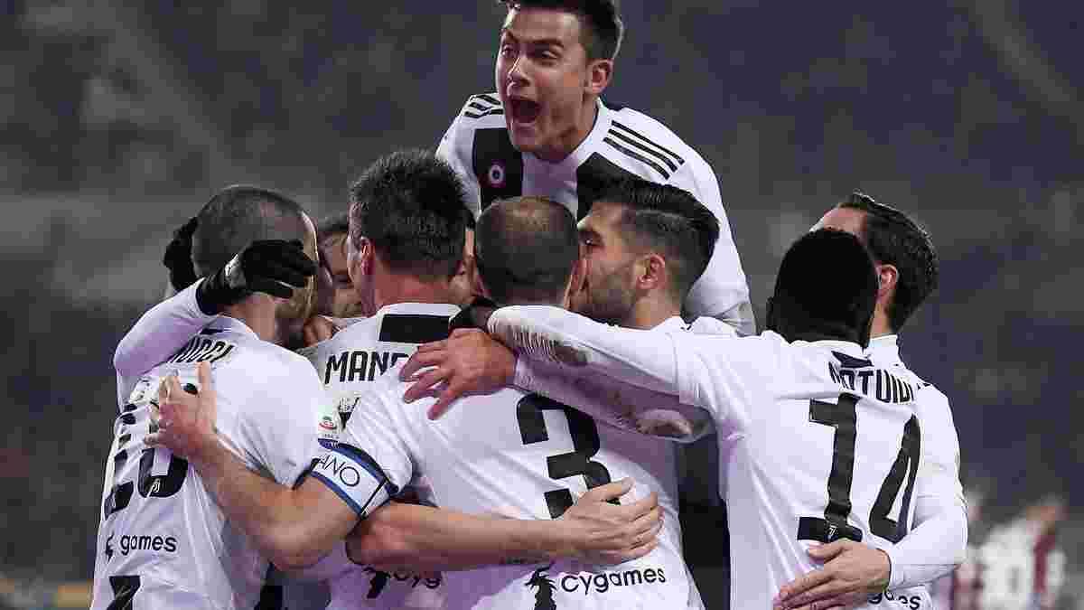 Ювентус одержал минимальную победу над Торино в дерби – победный гол в активе Роналду
